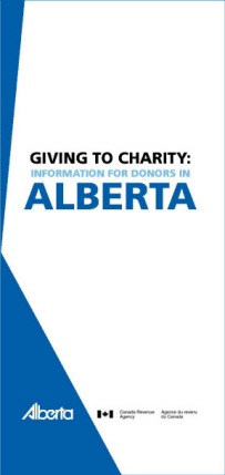 Giving to Charity brochure